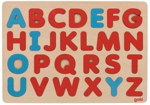 Montessori puzzle abeceda