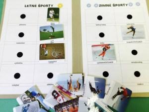 Športy zimné a letné
