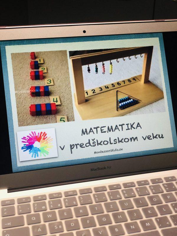 Webinár Montessori matematika