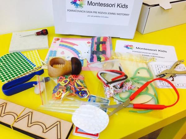 Montessori pokračovací box