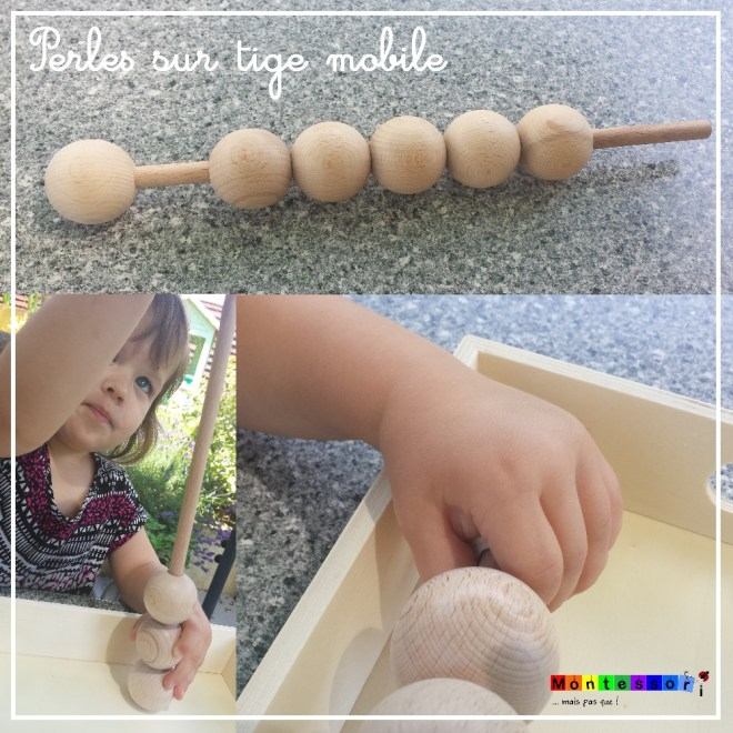 perles sur tige mobile