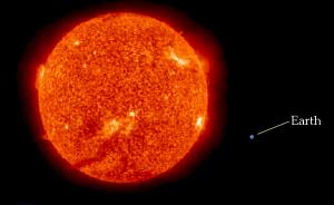 Earth-Compared-To-Sun-Size-1