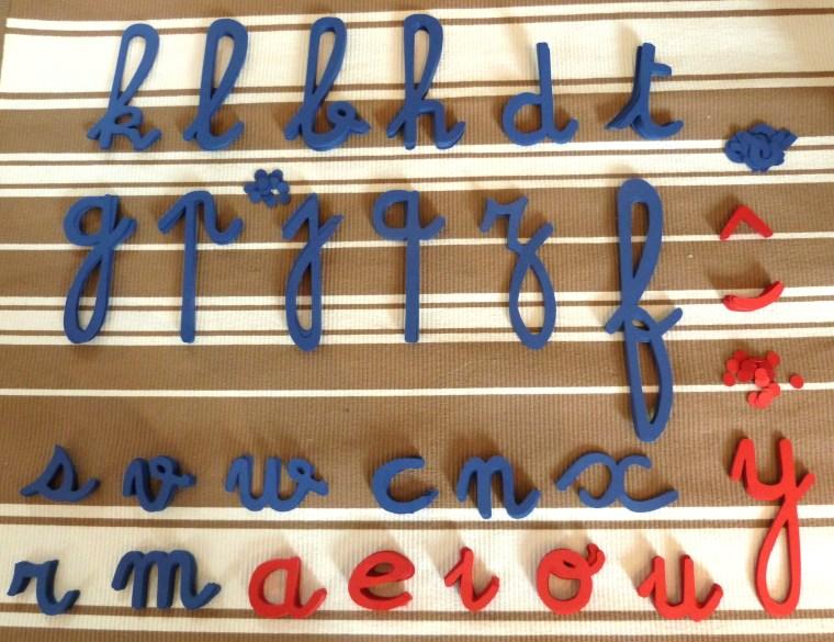 Alphabet mobile 2