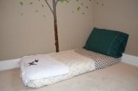 floor bed | Montessori Moms