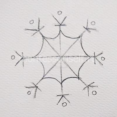 Біз сурет симметриялы жасаймыз
