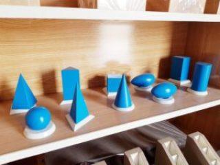 Montessori Geometric Solids