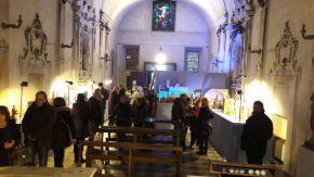 """La mostra """"Quella Notte a Betlemme"""" ha avuto lo scopo di valorizzare uno dei luoghi storici meno noti di Montevarchi, la chiesa di San Sebastiano, altrimenti nota come chiesa della COnfraternita della Misericordia"""