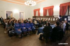 """Un momento della mostra-conferenza """"Montevarchi va Alla Fronte"""". L'evento ha portato a Montevarchi numerosi visitatori ed esperti provenienti da tutta la Toscana. Un primo passo per costruire la visibilità turistica della nostra produzione culturale"""