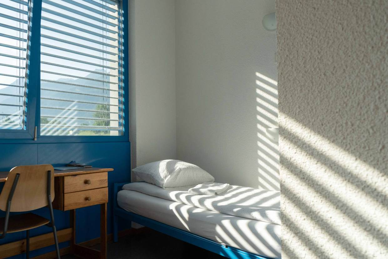 Chambre simple au Mont-Fort Swiss Lodge