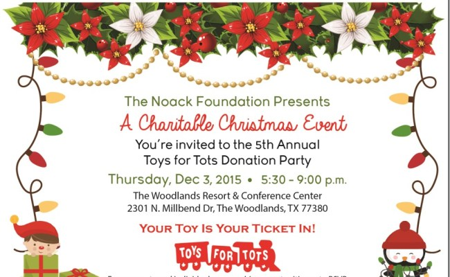 Toys For Tots Tonight In The Woodlands Montgomery County