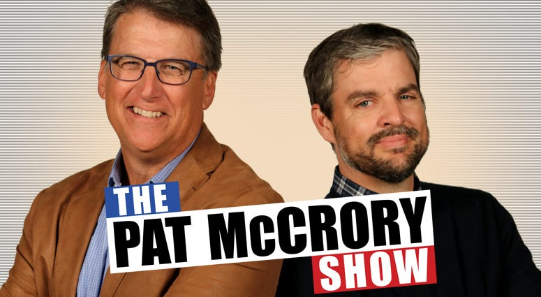 The Pat McCrory Show w/ Bo Thompson Pat McCrory live in studio 8am-10am weekdays