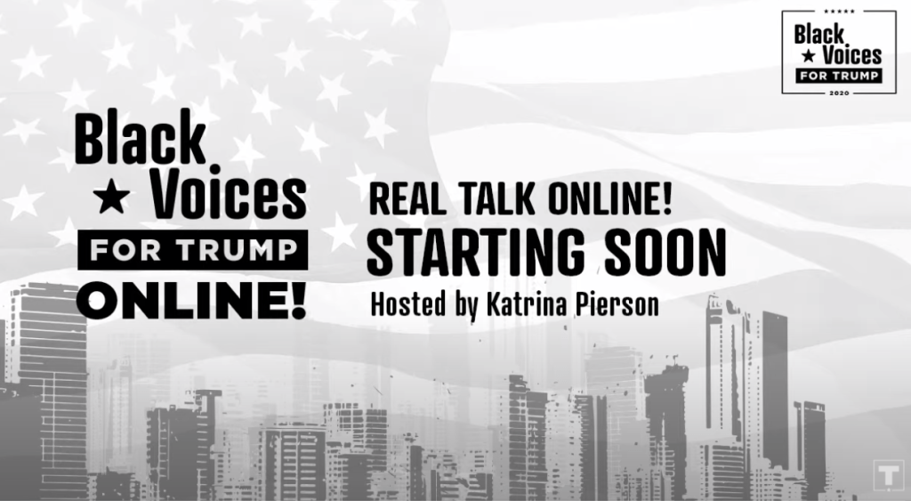 Black Voices for Trump Real Talk Online!