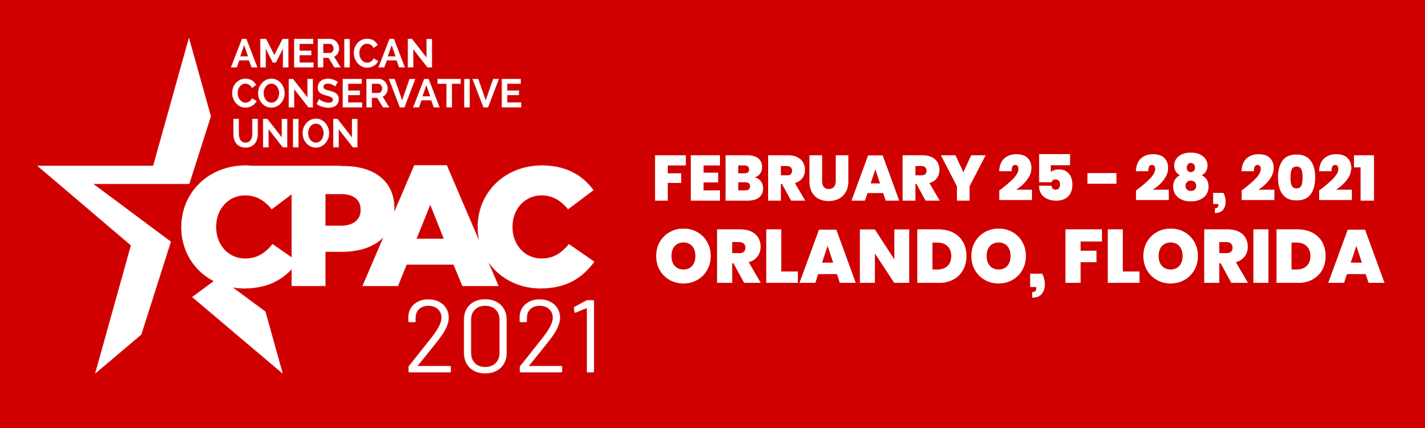Register for CPAC 2021 in Orlando, Florida