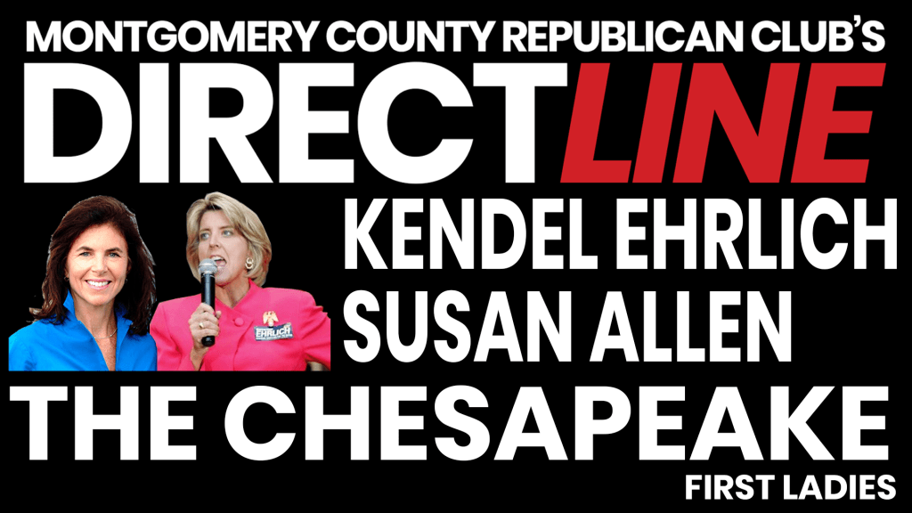 Direct Line with Former Maryland First Lady Kendel Ehrlich and former Virginia First Lady Susan Allen.