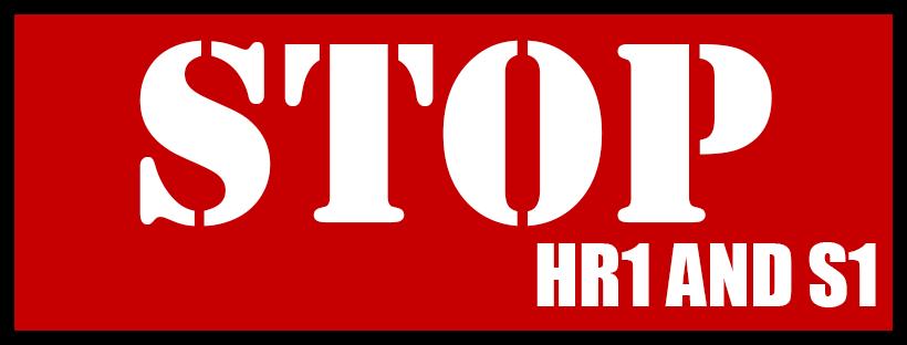 Stop HR 1 and Senate Bill 1