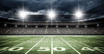 Football Field at 50 Yard