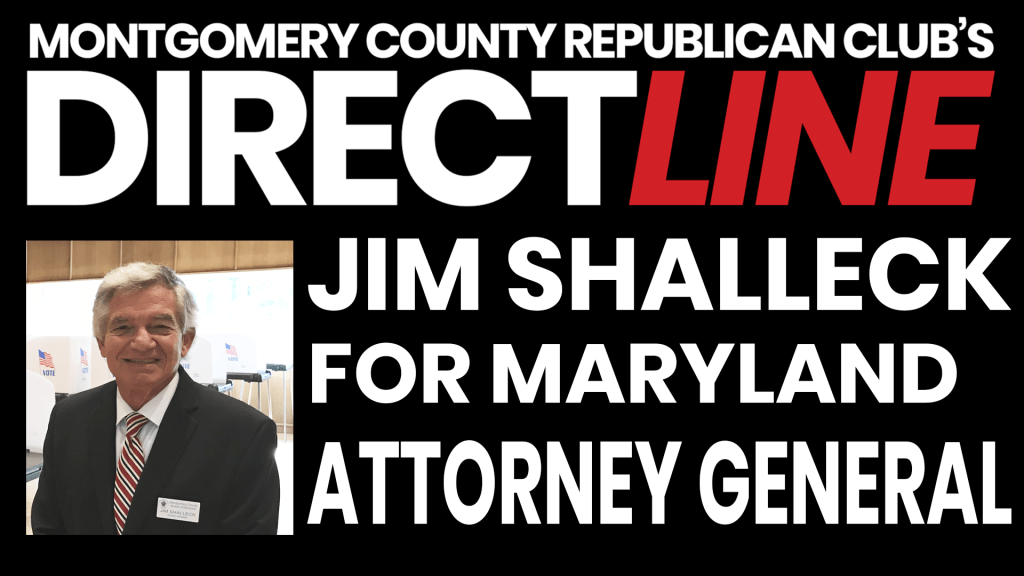 We are joined with Jim Shalleck, the prosecutor who put David Berkowitz (AKA Son of Sam) away, who is now running for Attorney General in Maryland. Jim Shalleck has been the past president of the Montgomery County Board of Elections.