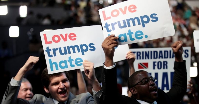 When Leftists Say 'Love,' Here's What They Really Mean