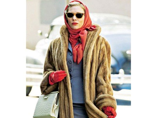 Cate Blanchett starring in Carol, filmed in Cincinnati. Montgomery Vision Care provided specialty lenses for the vintage eyewear