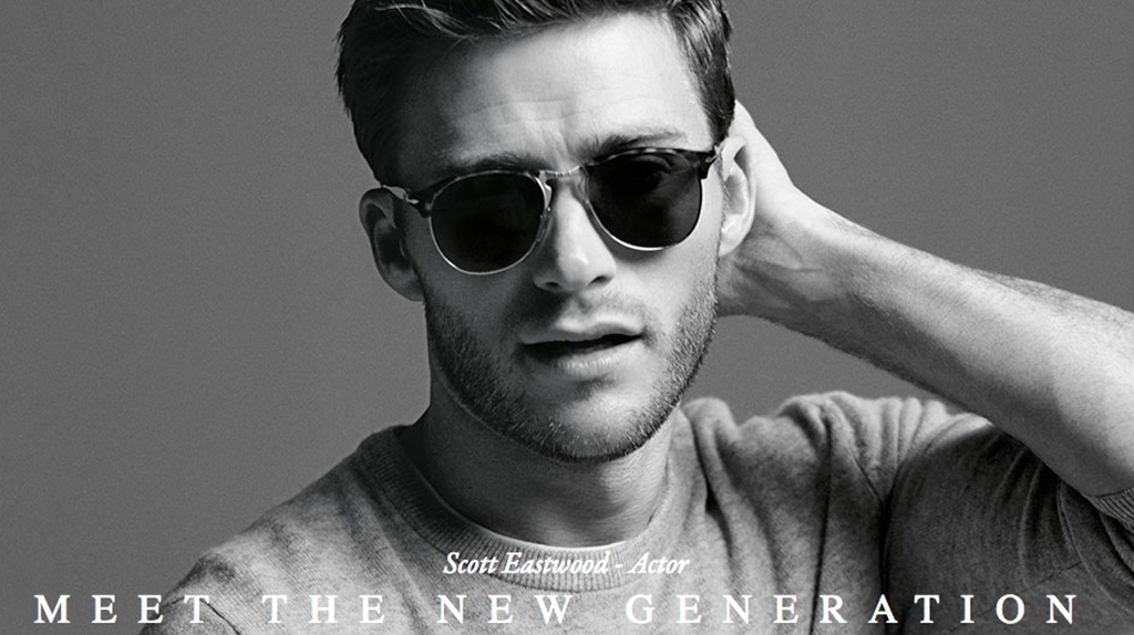 Persol featuring Scott Eastwood available at Montgomery Vision Care Cincinnati OH
