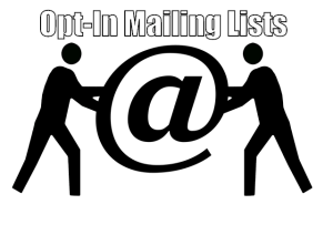 Opt-In Mailing Lists
