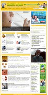 Kidney Stone Niche Website