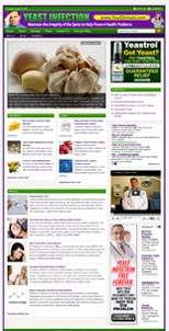 Yeast Infection Niche Website
