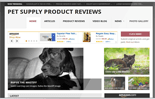 Pet Supply Review Website