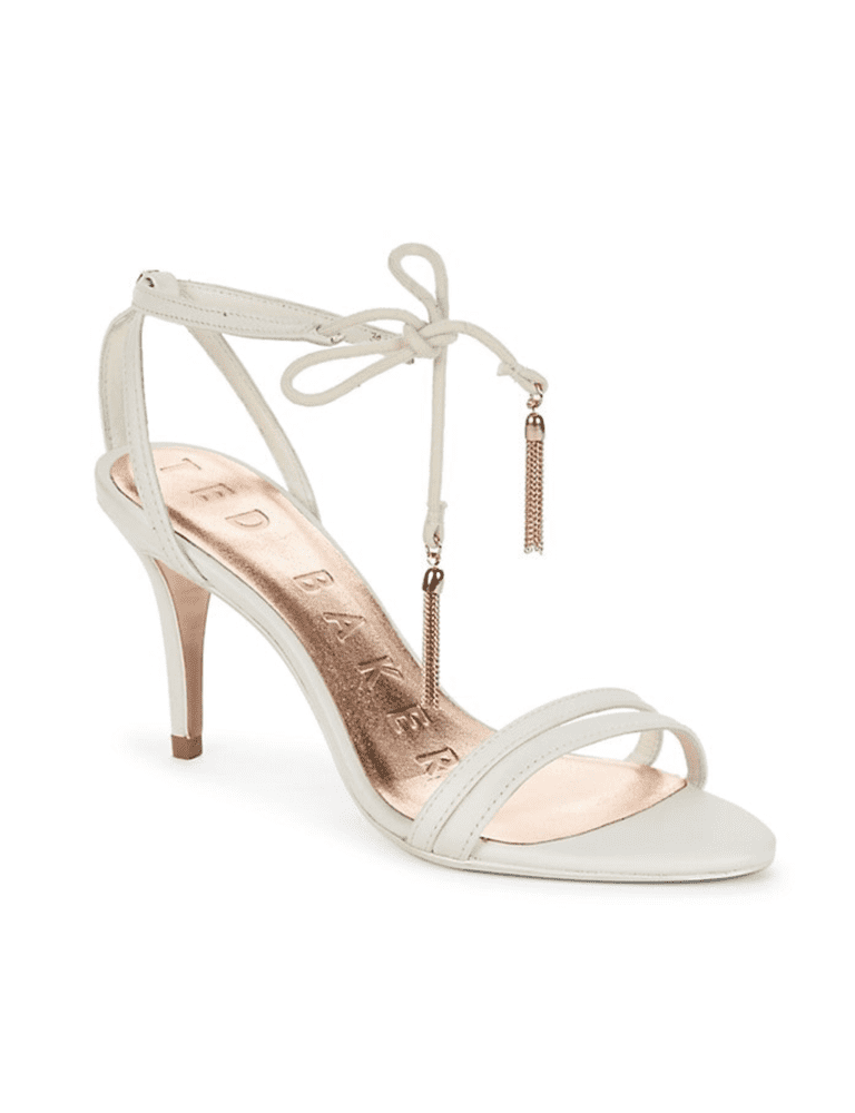 Ted Baker<br><small>Tassle Tie Strappy Leather Sandals</small>