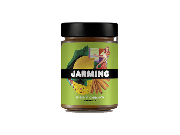 Lemon and Cinnamon Marmelade from Jarming