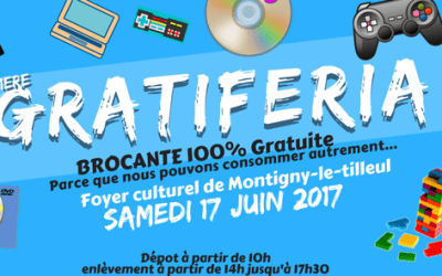 Samedi 17 Juin – 1ère Gratiferia (MARCHÉ GRATUIT) de Montigny