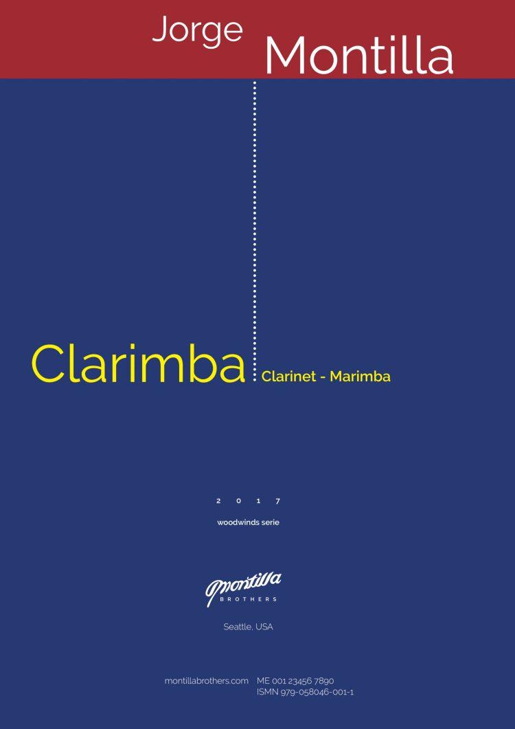 Clarimba Score for Clarinet and Marimba