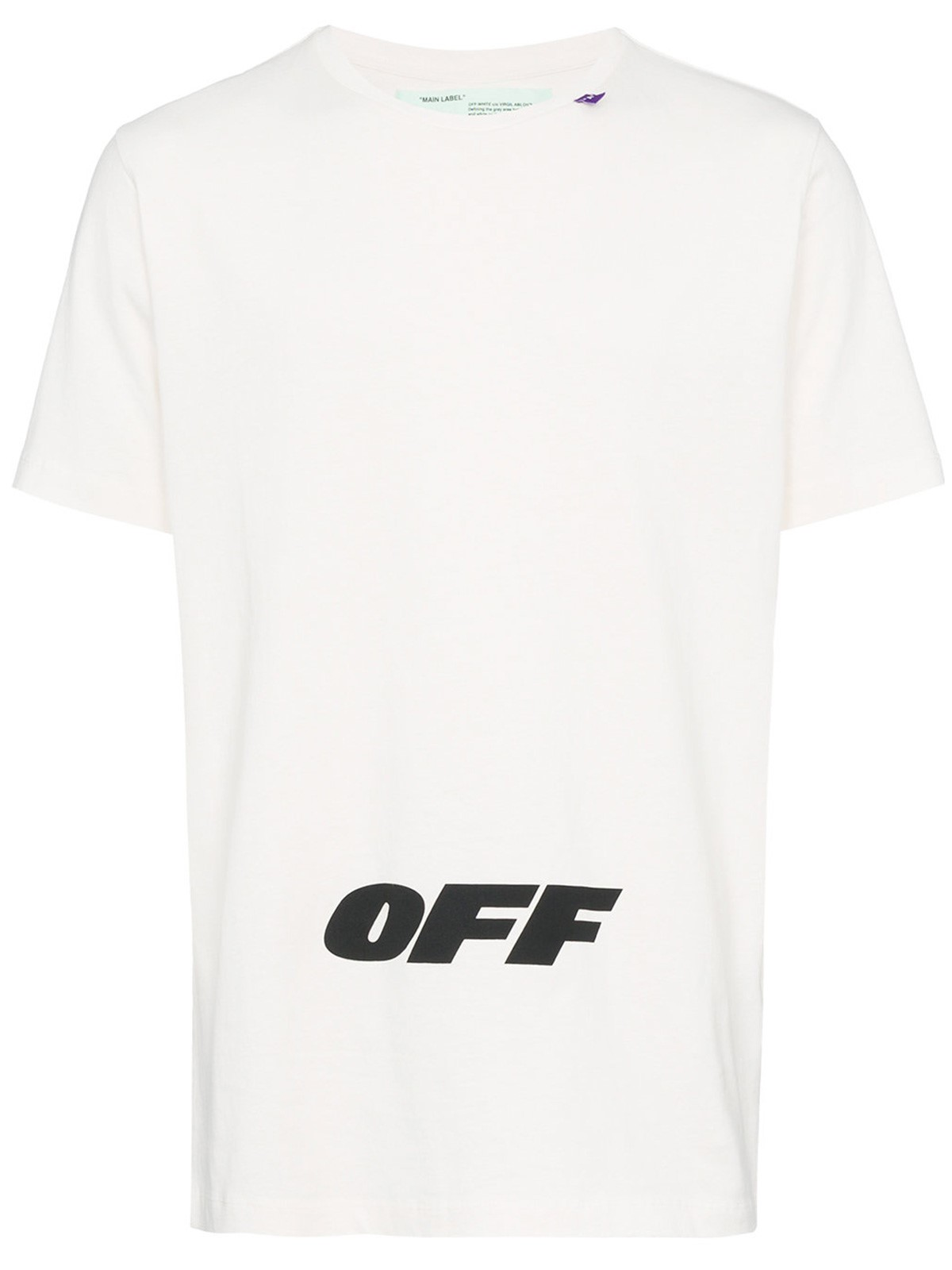 Off White Logo T Shirt Available On Montiboutique