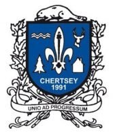 Chertsey, armoiries