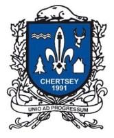 Chertsey, armoiries