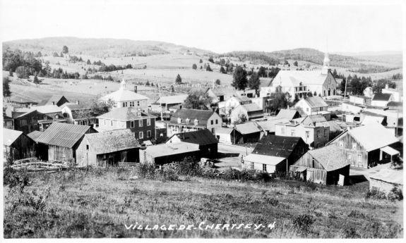 Le village de Chertsey (BANQ)