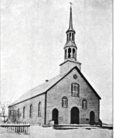 Église de Chertsey 1899