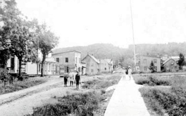 Rue de l'Église 1915