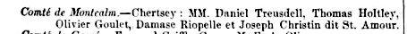 Commissaires d'école en avril 1857, Journal de l'Instruction publique