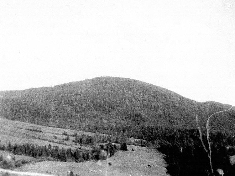 la montagne à Miron
