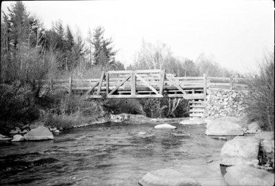 Le pont Grégoire, rivière Jean-Venne