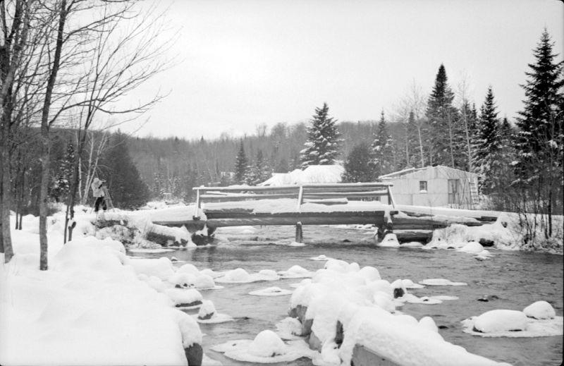 Pont au lac Racette