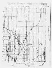 Recensement de 1861 carte de Chertsey