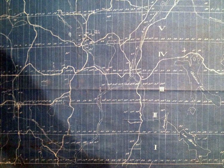 plan des routes de chertsey