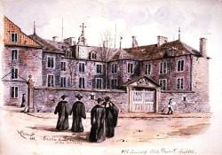 Visite du séminaire de Montréal