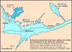 La moraine de Saint-Narcisse