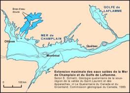 La mer de Champlain