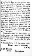 Poursuite contre Marseille et Théophile Lapierre