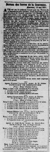 Journal de Québec 8 juillet 1851