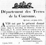 Courrier du Canada 1er juin 1860